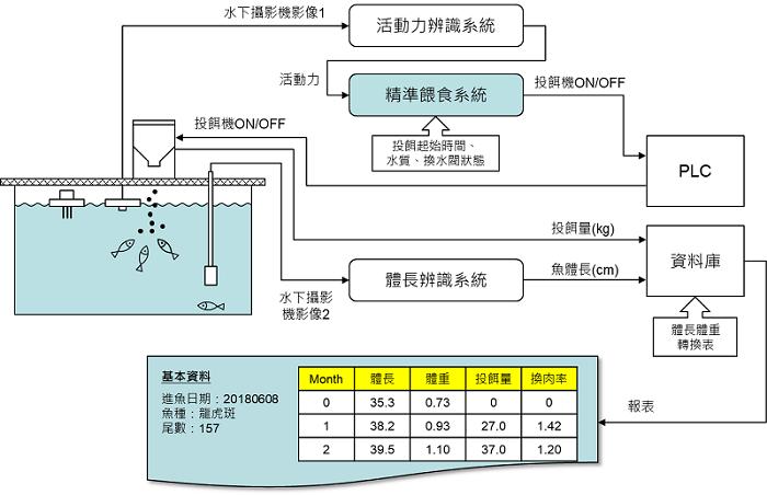 圖2、精準投餵系統架構。